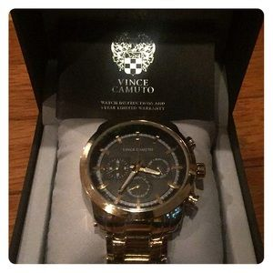 Vince Camino Adjustable Gold Watch